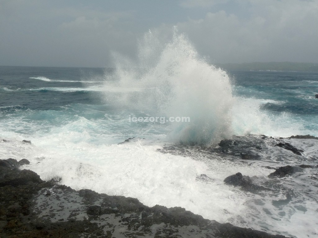 Water Splash in Batanes